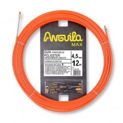ANGUILA MAX Ø 4,5 mm Polyester Monofilament twisted 12m