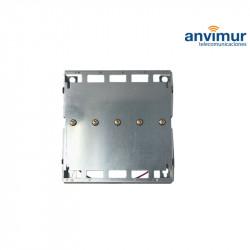 Base soporte 5 unidades para monocales Ikusi (contactos de alimentación) LTE700