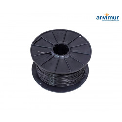 Reel of Plastic Covered Steel Wire 120m.