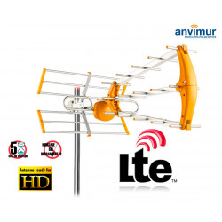 Antena TDT HD 35ELEMENTOS con Filtro LTE700