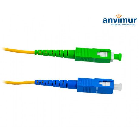 SC/APC - SC/UPC SM9/125 3M Ø3mm fiber patch cord