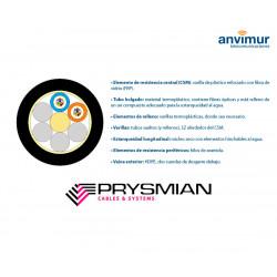 PRYSMIAN-FTP-96 F - Fiberglass and polyethylene coating (12 tubes x 8 fibers)