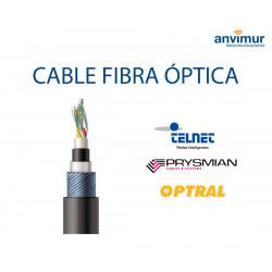 Tarifa Febrero Cables Fibra Óptica