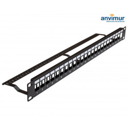 "Patch Panel 19"" 24 huecos RJ45H"