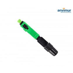 Conector mecánico reutilizable SC/APC