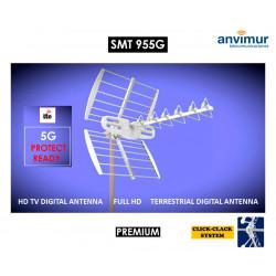 Antena TDT HD PREMIUM 18dBi con Filtro LTE700