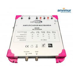 Amplificador Multibanda Novamax MA50