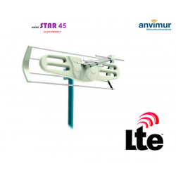 UHF antenna with LTE700 MINI STAR45 filter