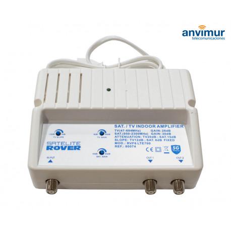 Indoor Amplifier TV + SAT LTE