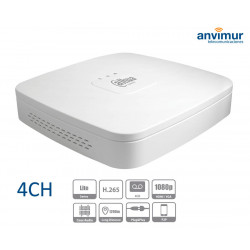 4 channels hibrid DVR (analog/HDCVI/IP), 720p