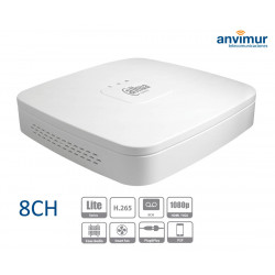 8 Channel DVR 5in1 - HDCVI/IP 1080P@12IPS 5MP