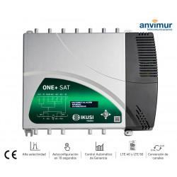 Central Amplificadora Programable Digital ONE+ SAT IKUSI