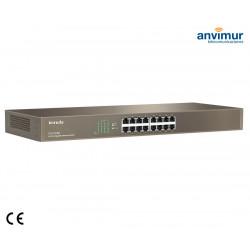 Switch 16 puertos Gigabits 10/100/1000 | TENDA