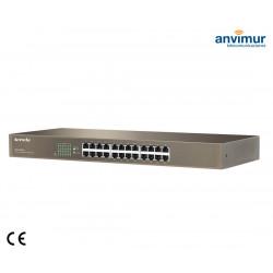Switch 24 puertos Gigabits 10/100/1000 | TENDA