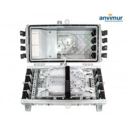Torpedo Horizontal Premium 8+16SC Puertos y 72 Fusiones + Splitter 1:8 | GFX16-S8