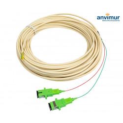 ICT-2 PIGTAIL 20metros 2FO con Conector SC/APC | CPR Dca
