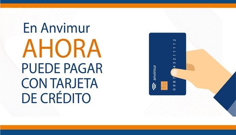 En Anvimur ya puedes pagar con tarjeta de crédito