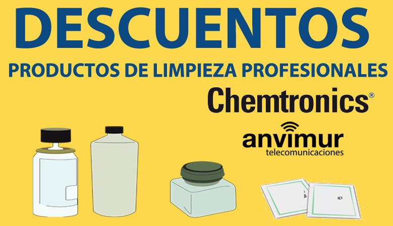 Anvimur rebaja los precios de los productos de limpieza de Chemtronics