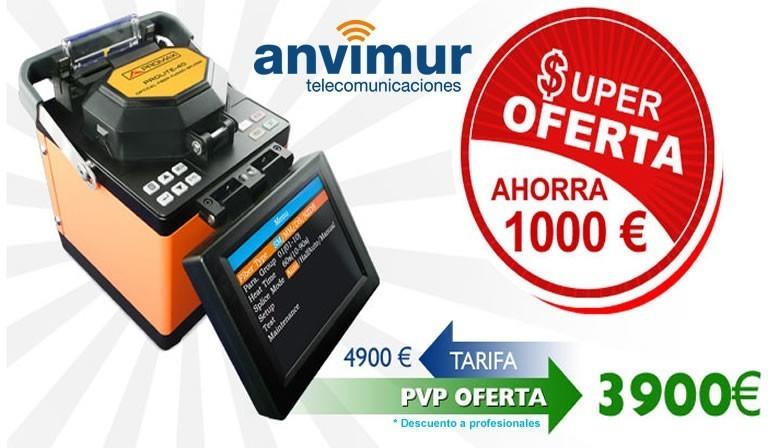 Fusionadora de fibra óptica PROLITE 40B